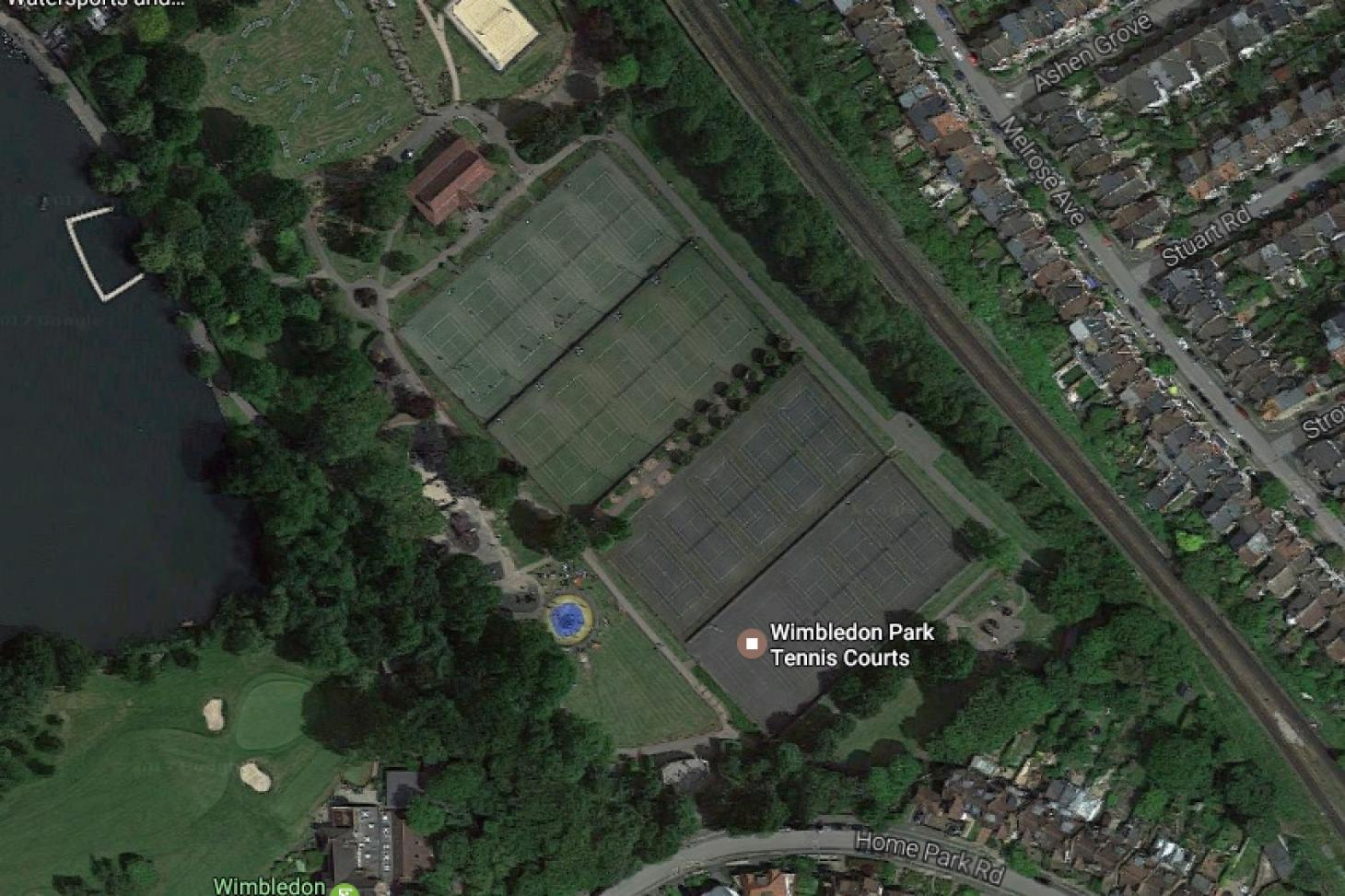 Wimbledon Park Outdoor | Astroturf tennis court