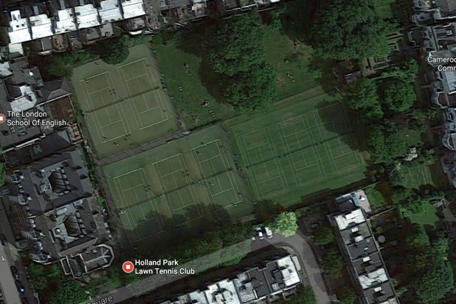 Holland Park Lawn Tennis Club Outdoor | Grass tennis court