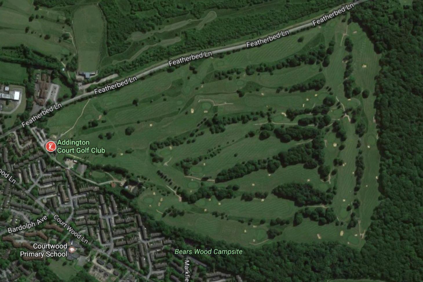 Addington Court Golf Centre 18 hole golf course