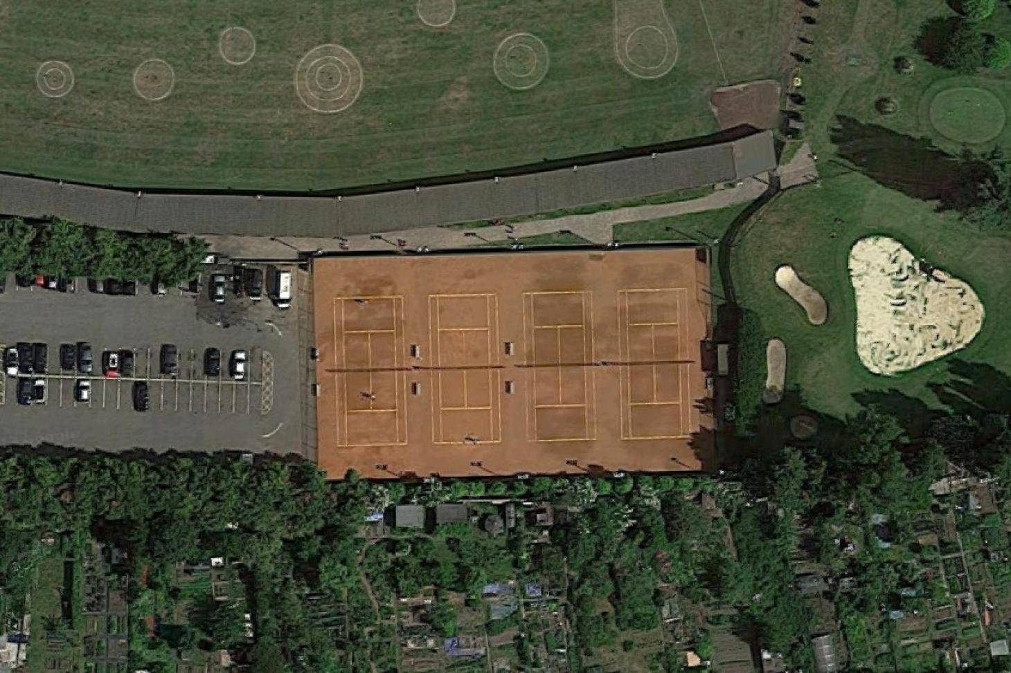 Dukes Meadows Golf and Fitness Outdoor | Hard (macadam) tennis court