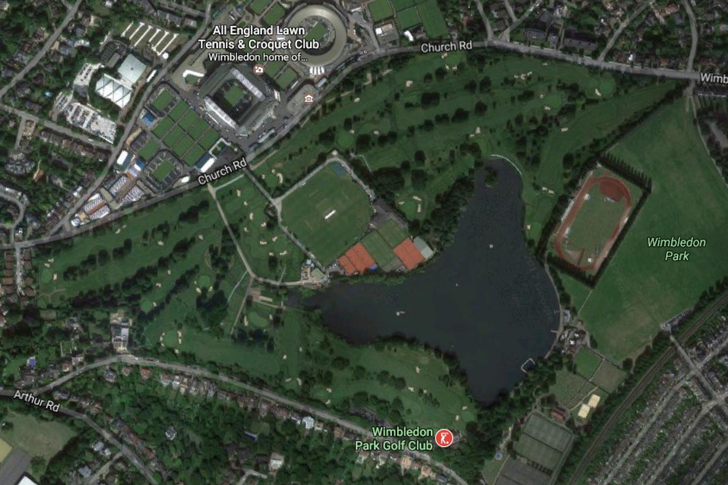 Wimbledon Park Golf Club 18 hole golf course