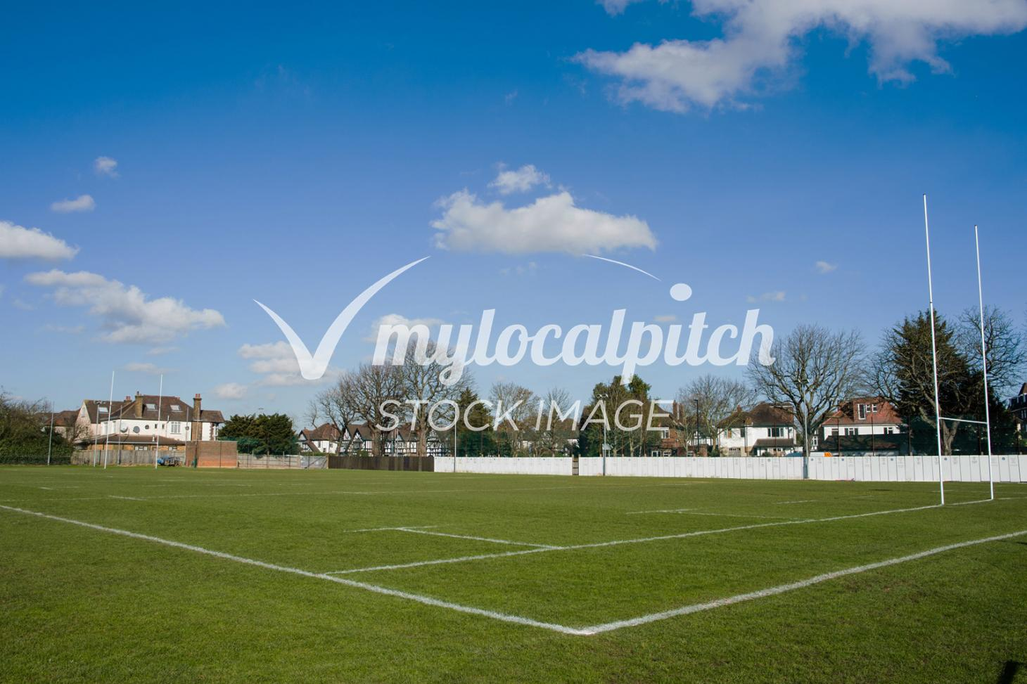 Desborough College Union   Grass rugby pitch