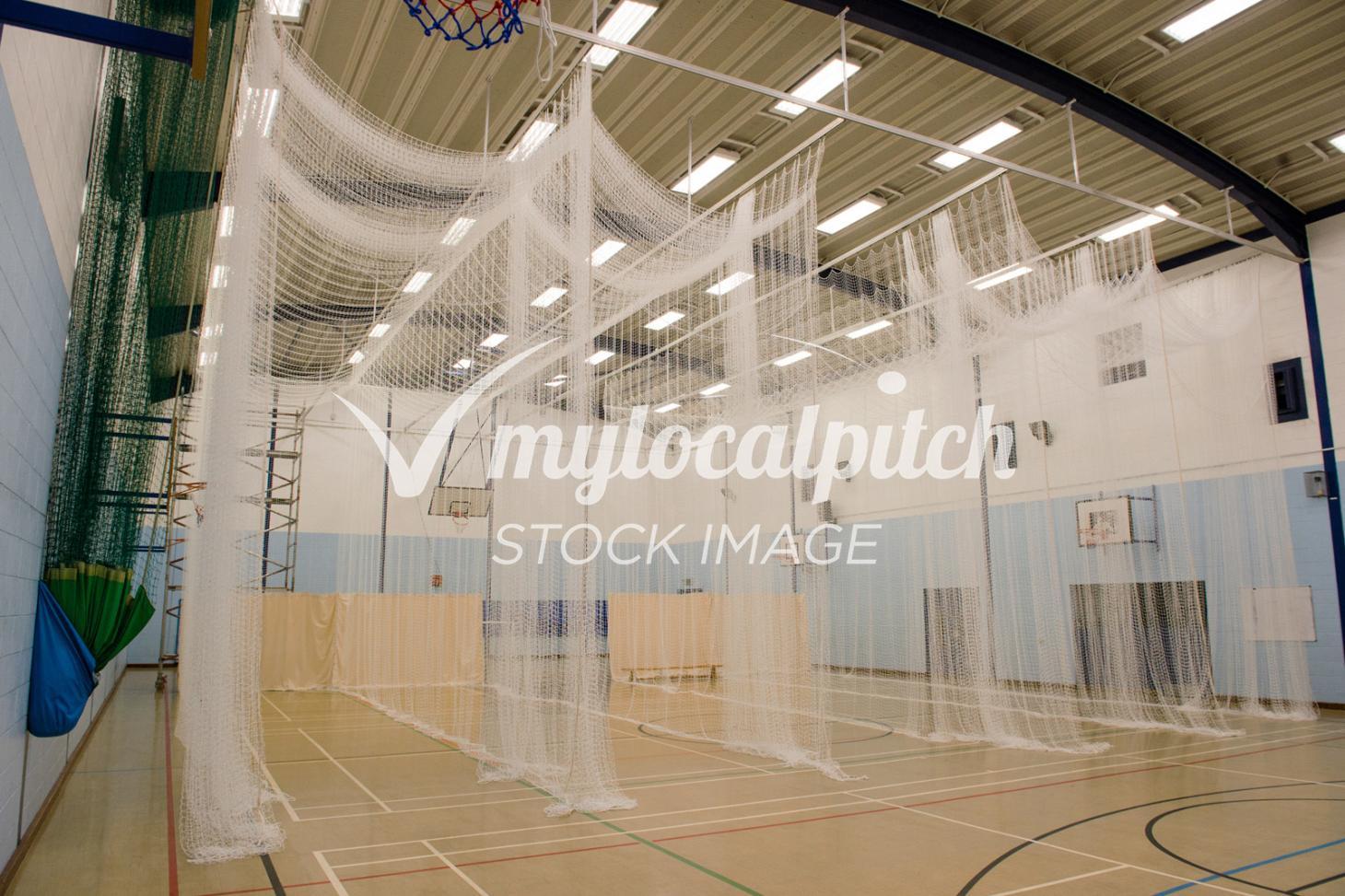 Francis Combe Academy Nets   Sports hall cricket facilities