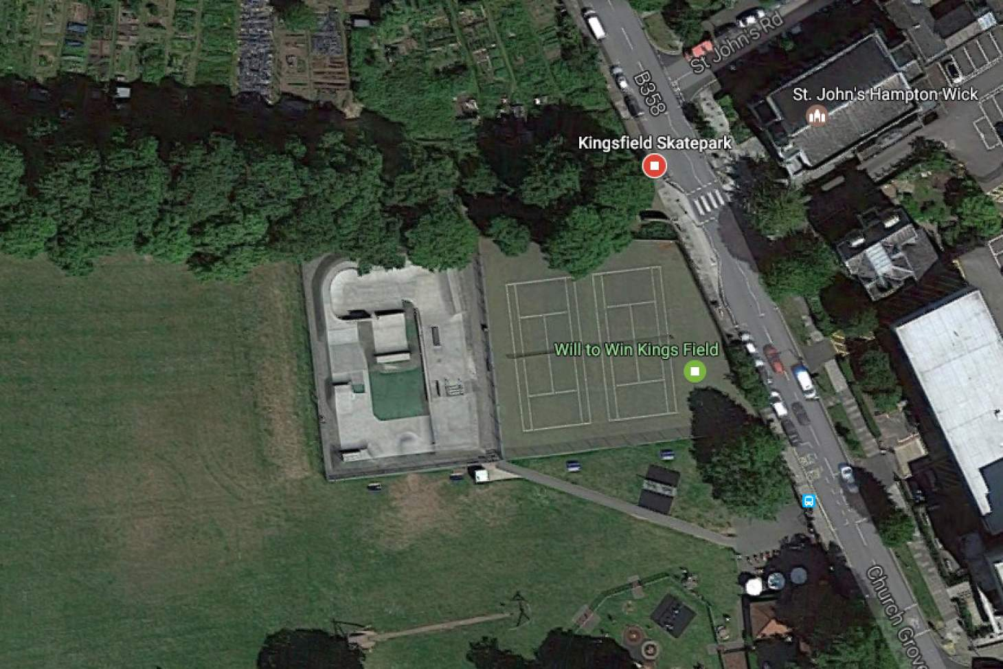 Kings Field Outdoor | Hard (macadam) tennis court
