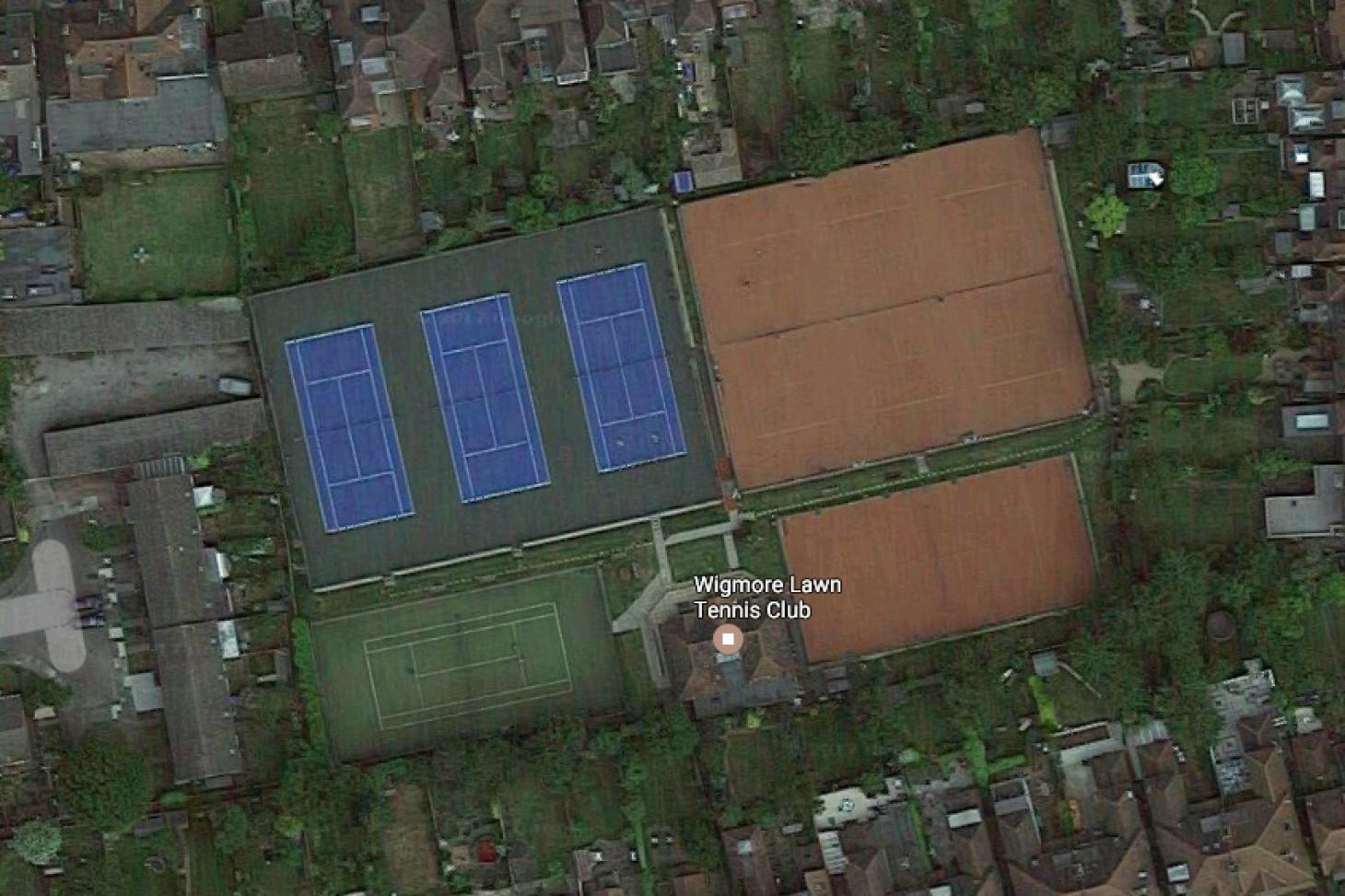 Wigmore Lawn Tennis Club Outdoor | Astroturf tennis court