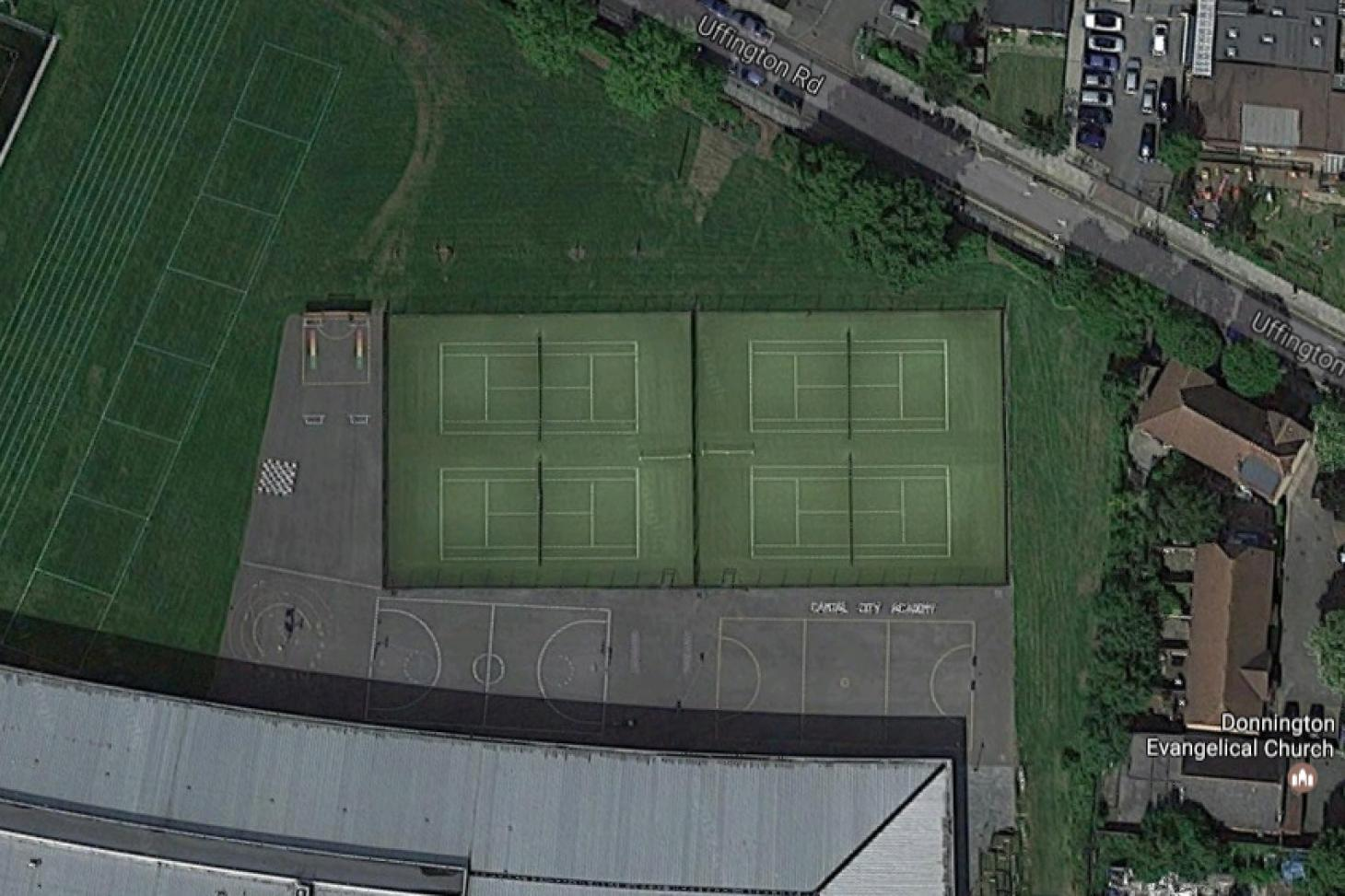 Willesden Sports Centre Outdoor | 3G Astroturf tennis court