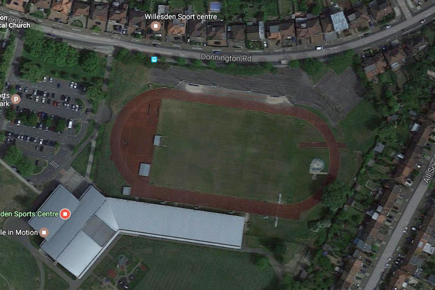 Willesden Sports Centre Outdoor | Synthetic rubber athletics track