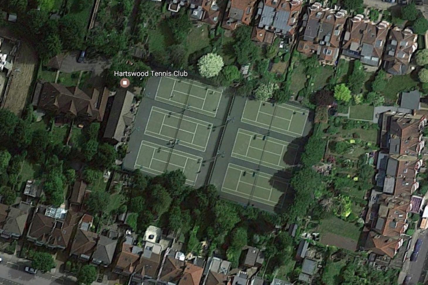 Hartswood Tennis Club Outdoor | Hard (macadam) tennis court