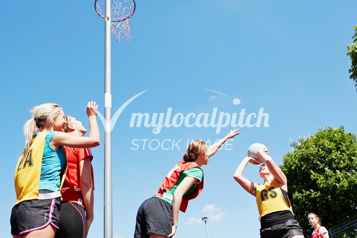 The Holy Cross School Indoor netball court