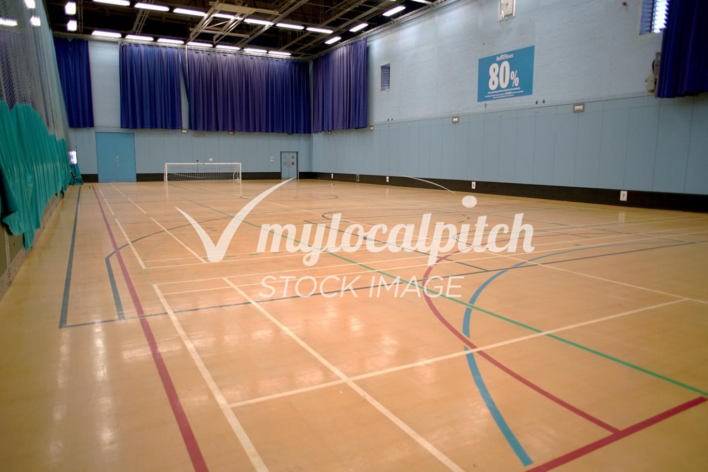 dlr Loughlinstown 5 a side   Indoor football pitch