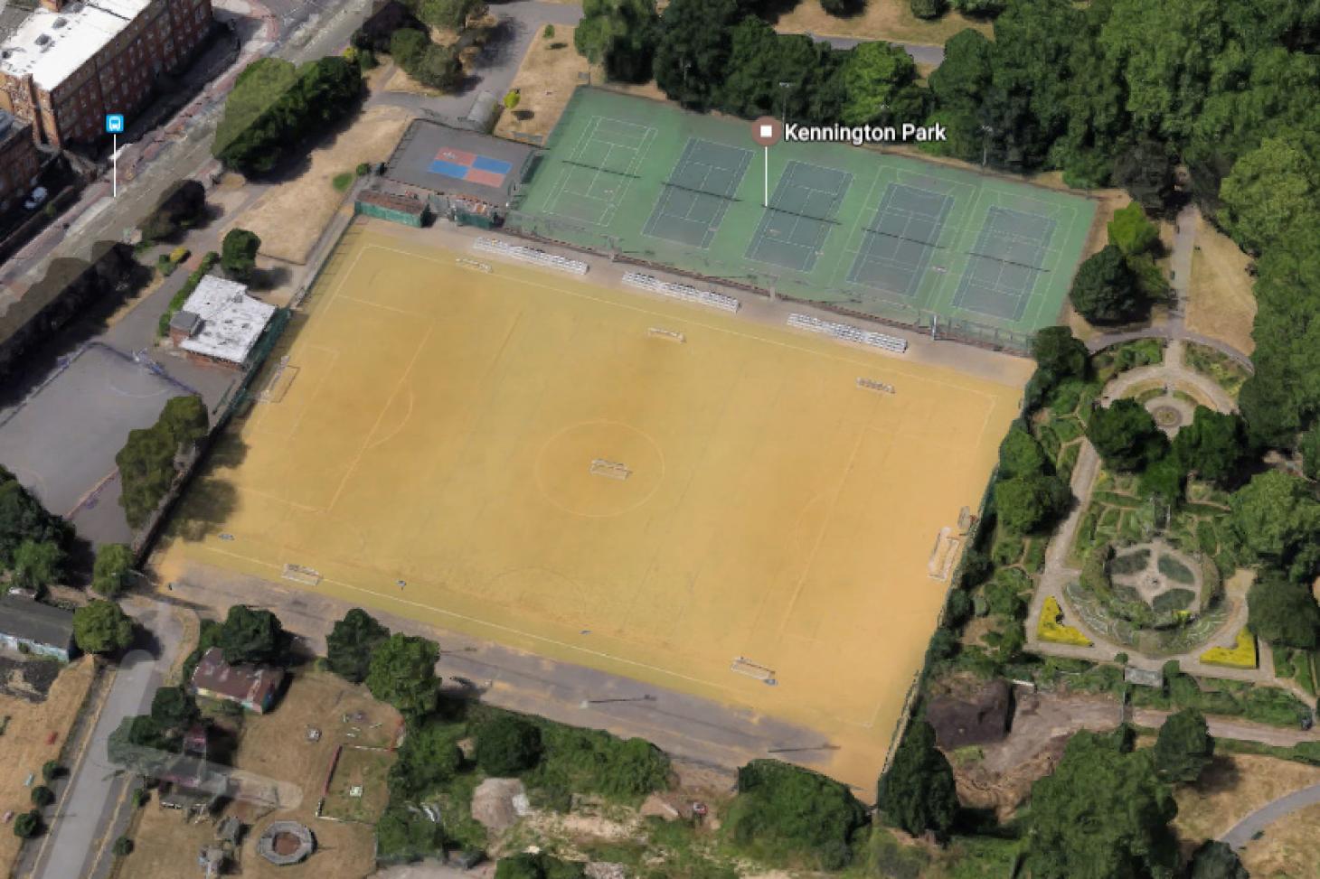 Kennington Park 5 a side   Astroturf football pitch