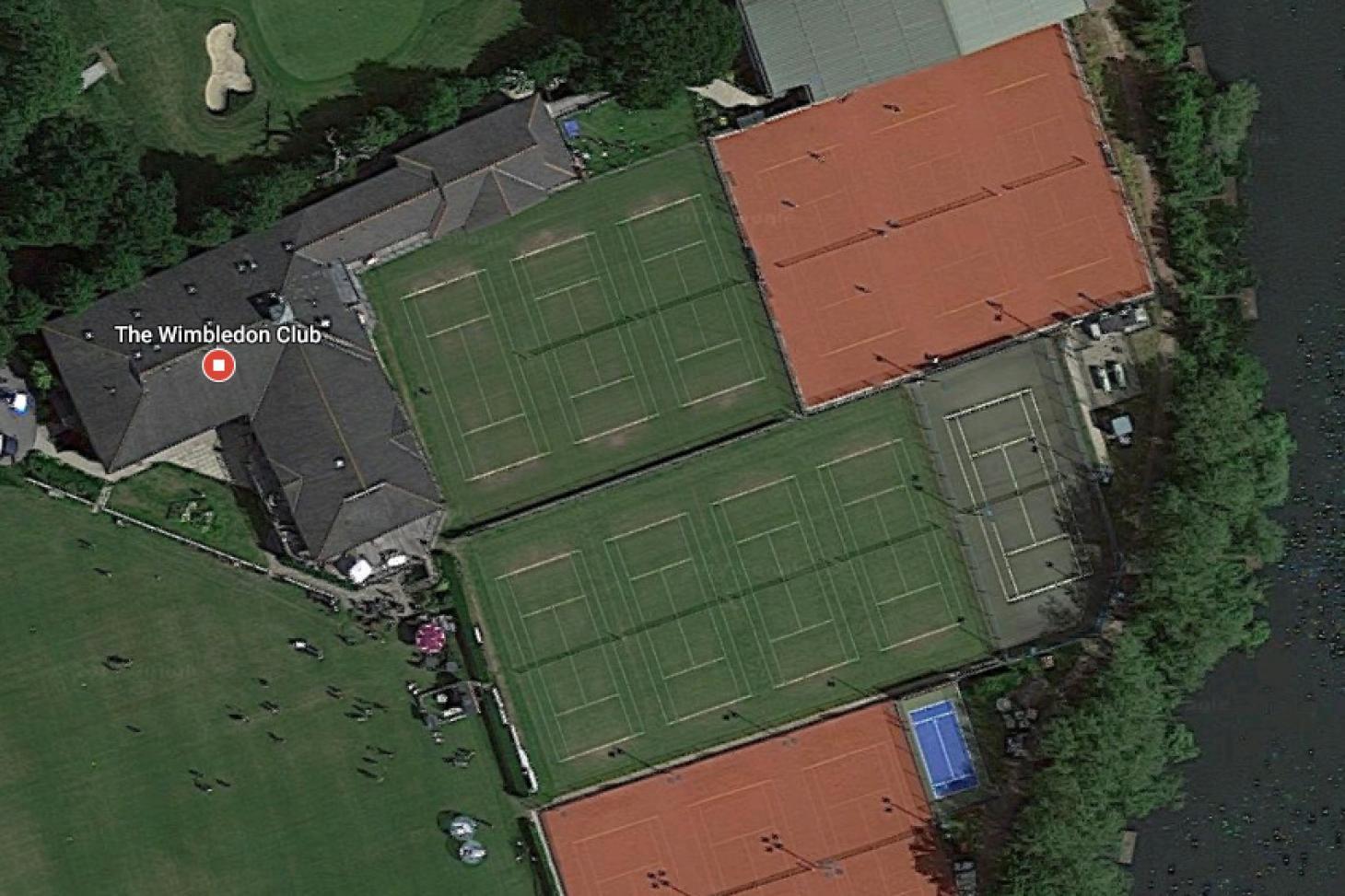 Wimbledon Club Outdoor | Grass tennis court