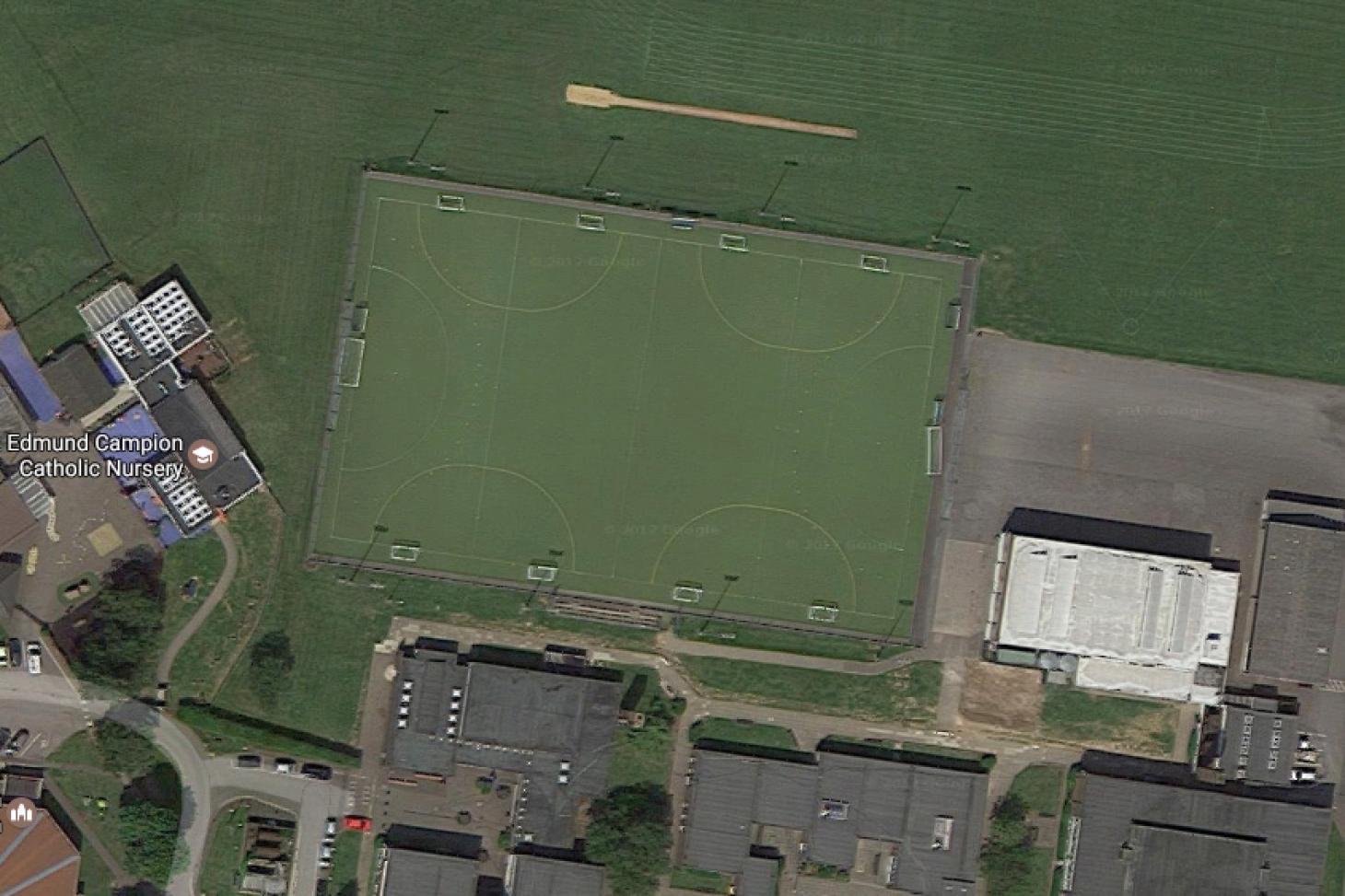 Altwood Church of England School 11 a side   Astroturf football pitch