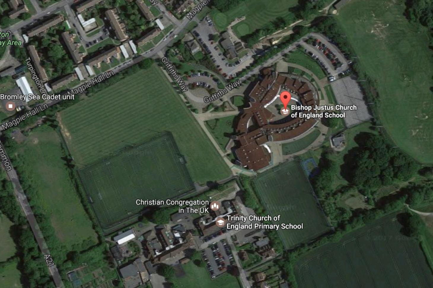 Bishop Justus C of E School 11 a side | 3G Astroturf football pitch