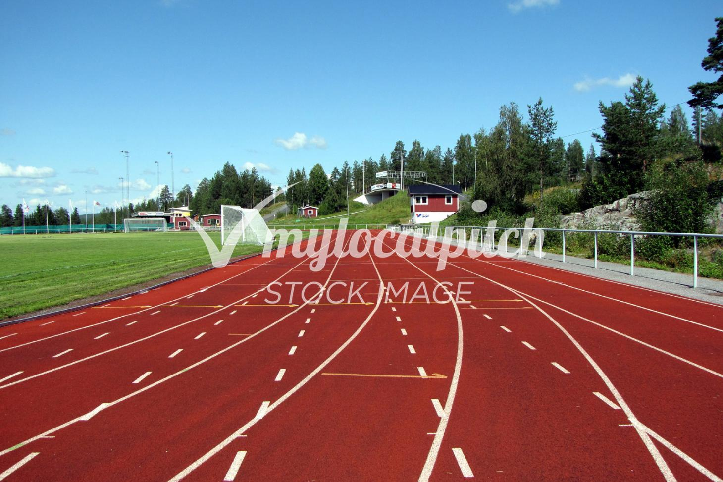 Dulwich College Sports Club Outdoor | Synthetic rubber athletics track