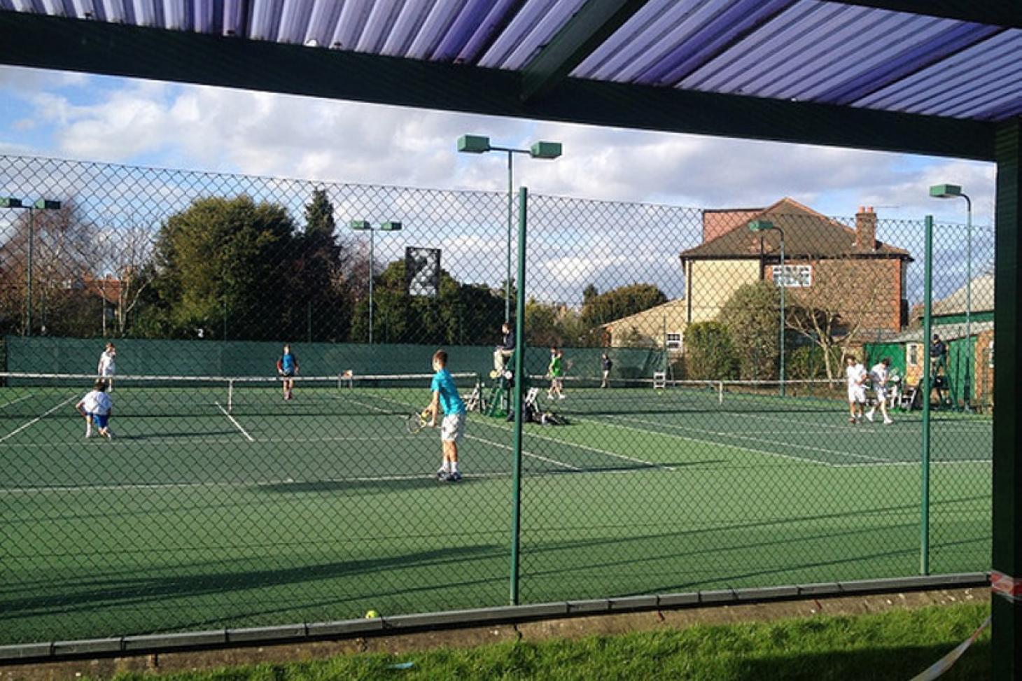 Wilton Lawn Tennis Club Outdoor   Hard (macadam) tennis court