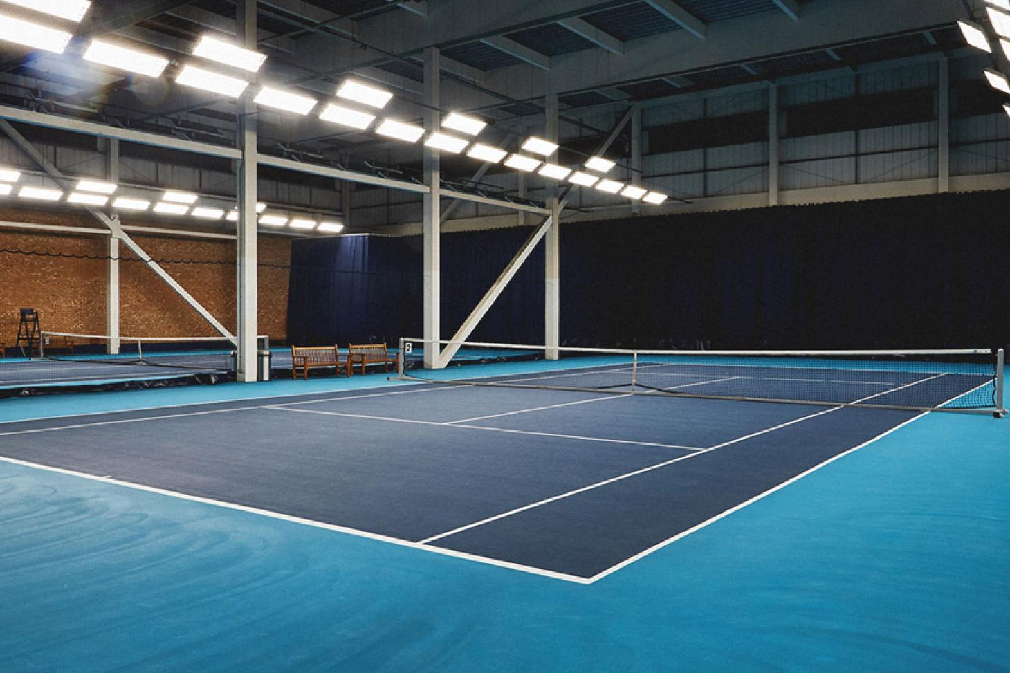 Chelsea Harbour Club Indoor tennis court
