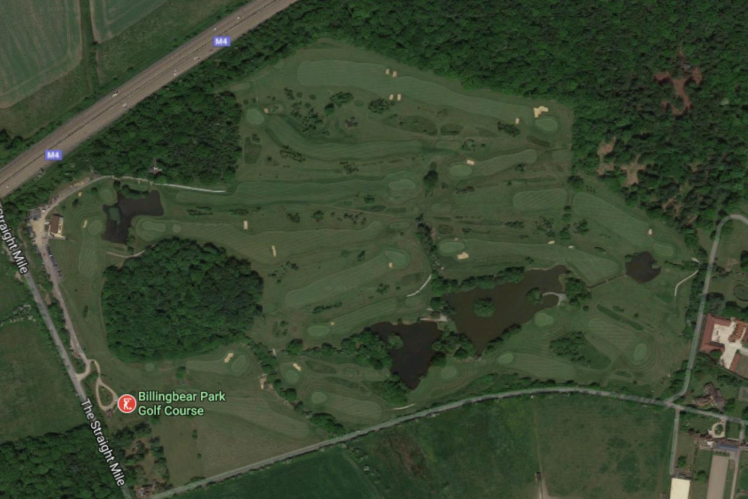 Billingbear Park Golf Course 18 hole golf course