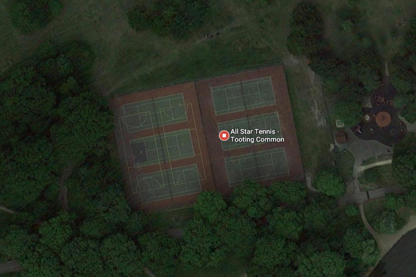Tooting Bec Common Outdoor | Hard (macadam) tennis court