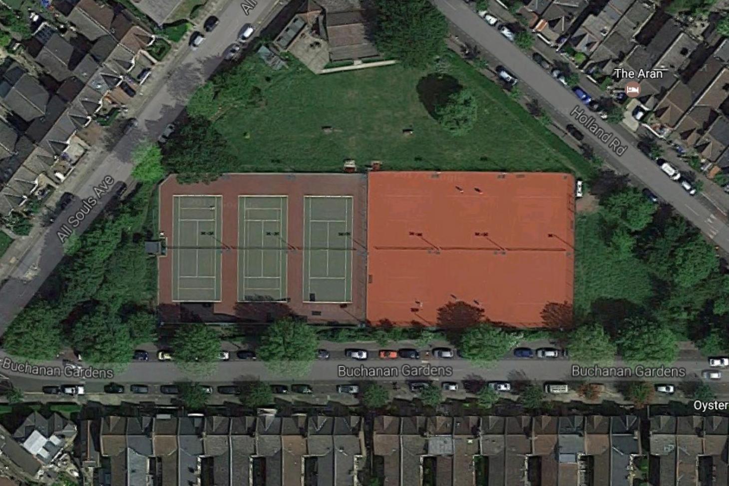 Elmwood Lawn Tennis Club Outdoor | Hard (macadam) tennis court