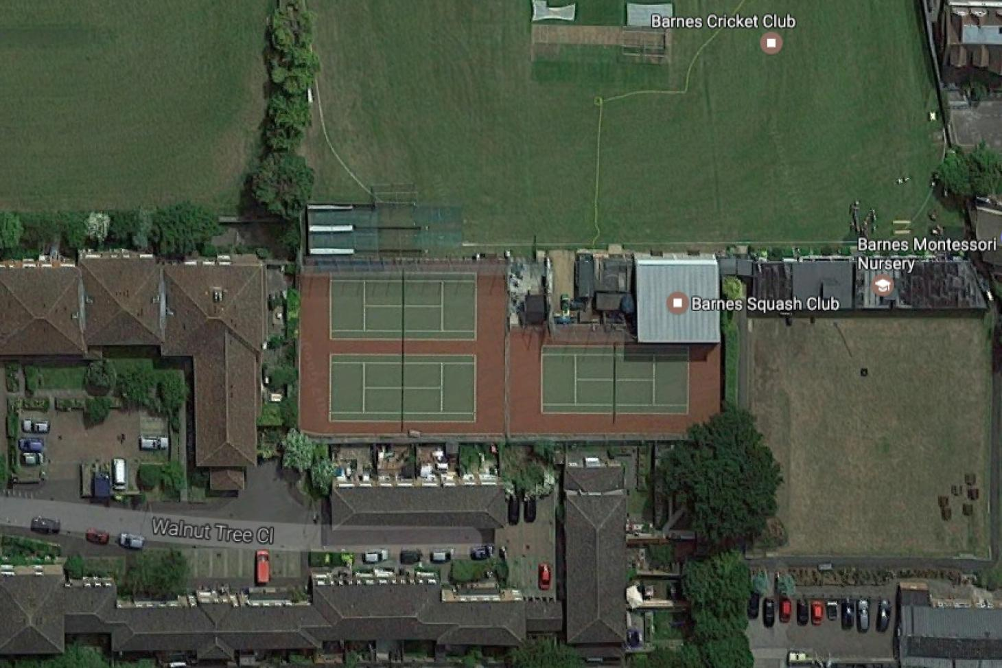 Barnes Tennis Club Outdoor | Hard (macadam) tennis court