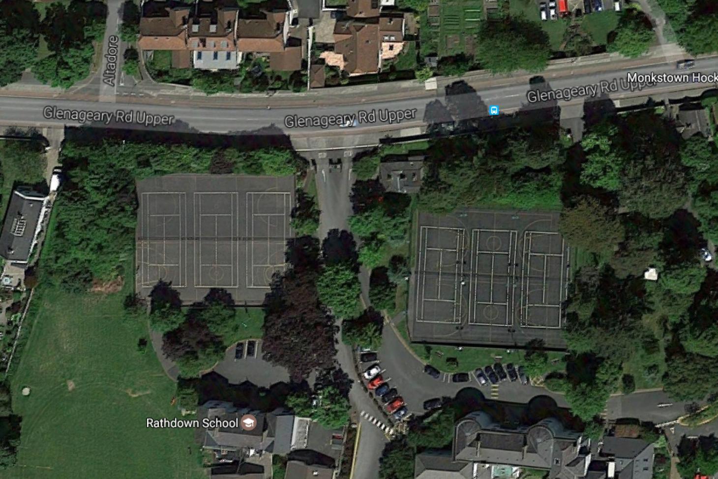 Rathdown School Campus Outdoor   Hard (macadam) tennis court