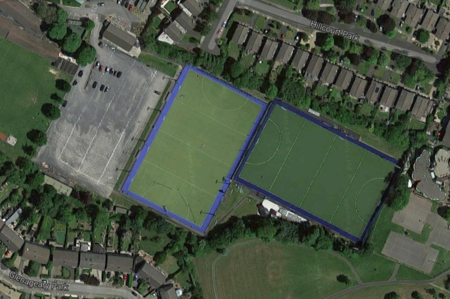 Rathdown School Campus Outdoor | Astroturf hockey pitch