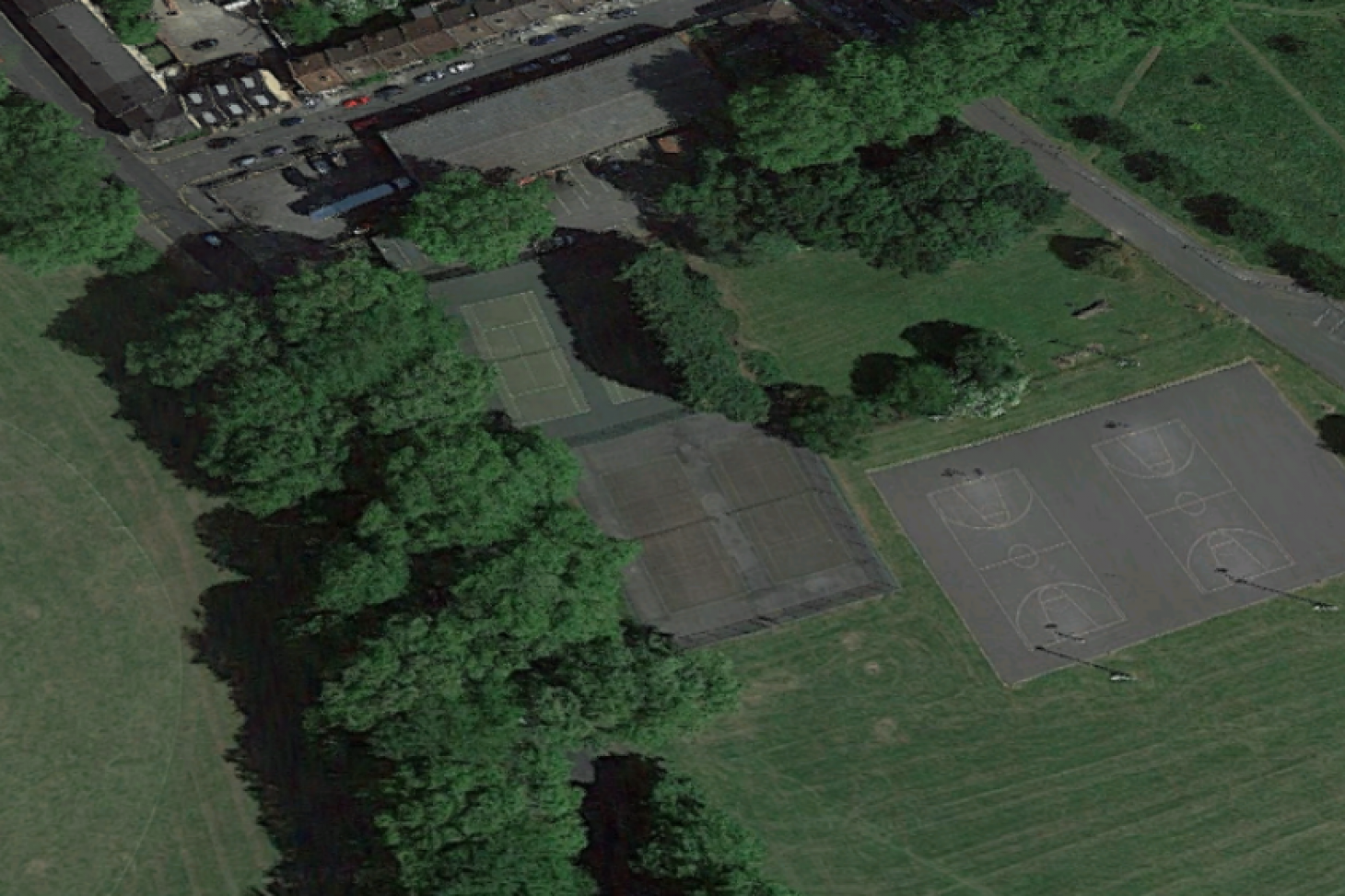 Millfields Park Outdoor | Hard (macadam) tennis court