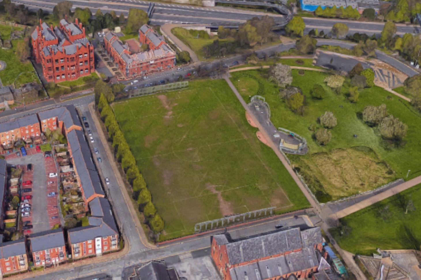 Hulme Park 11 a side | Grass football pitch