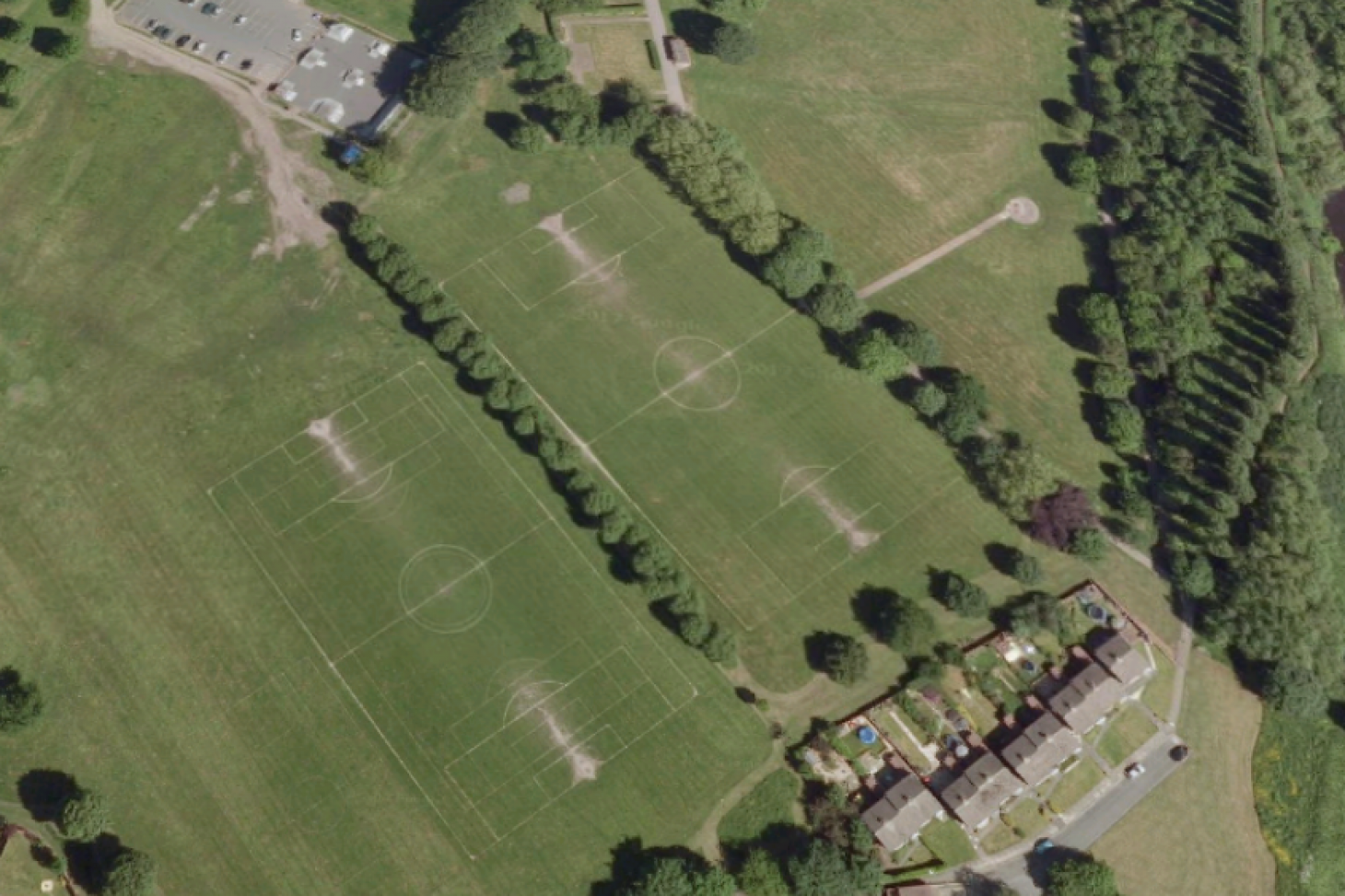 Prince's Park 11 a side | Grass football pitch