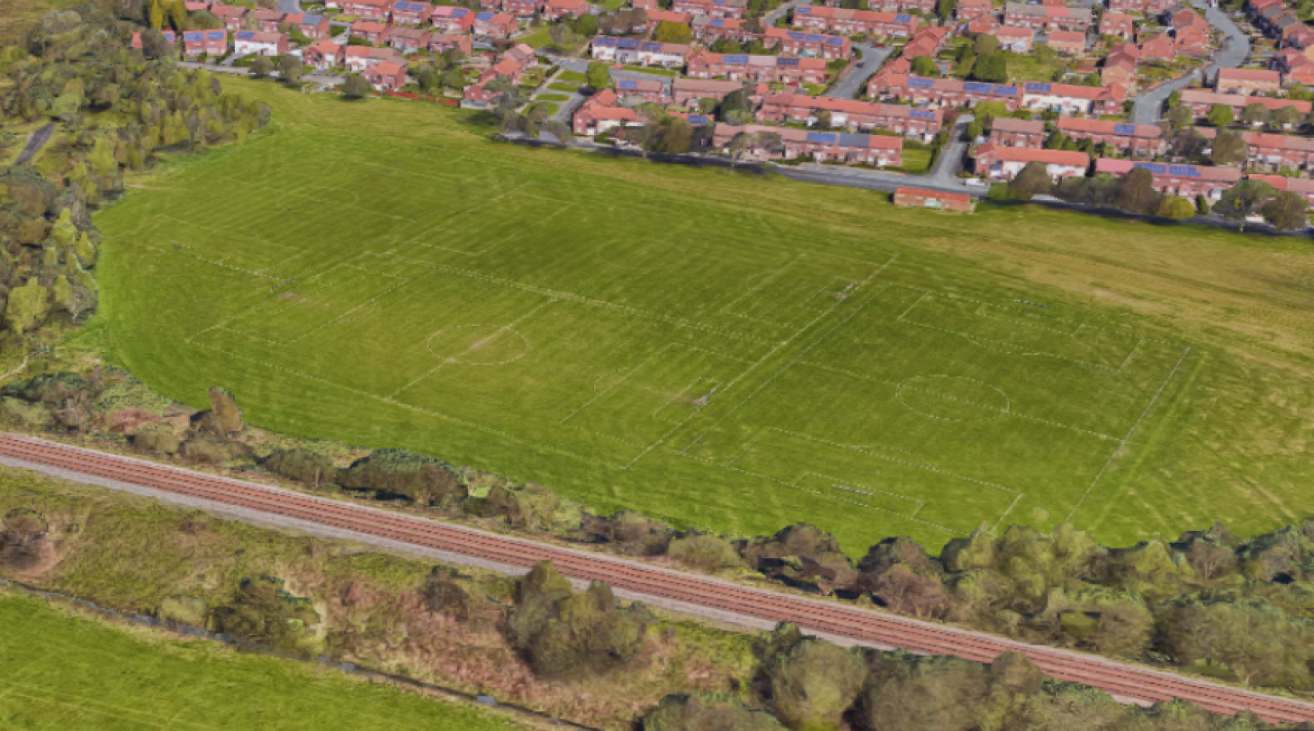 Wharton Playing Fields 11 a side | Grass football pitch