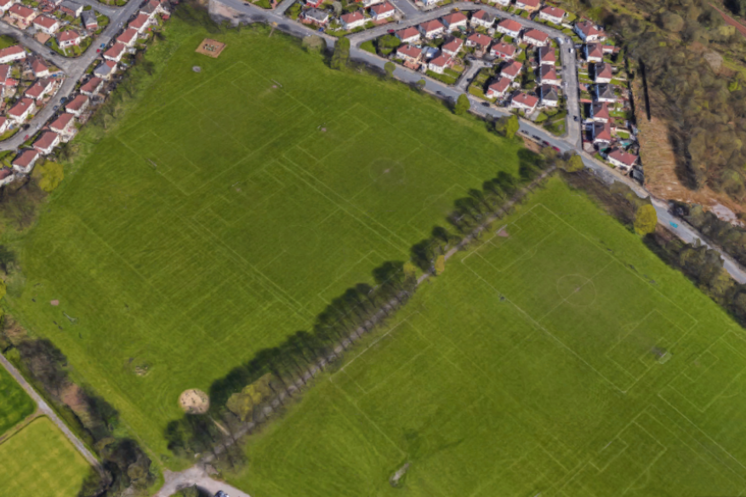 Bolton Road Playing Fields 7 a side   Grass football pitch