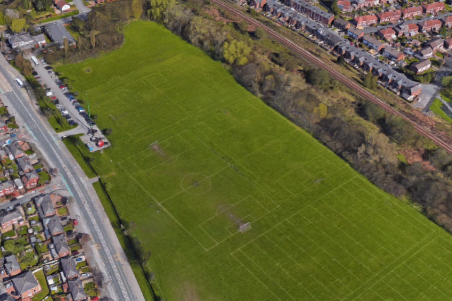 Rabbit Hills Playing Fields 11 a side | Grass football pitch