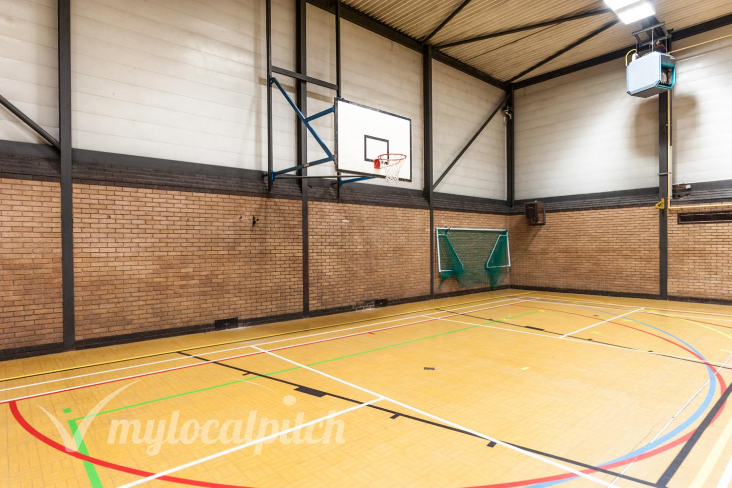 Clarendon Leisure Centre Indoor basketball court