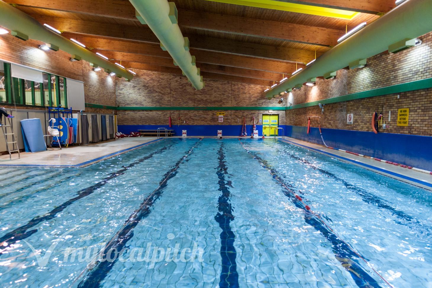 Eccles Leisure Centre Indoor swimming pool