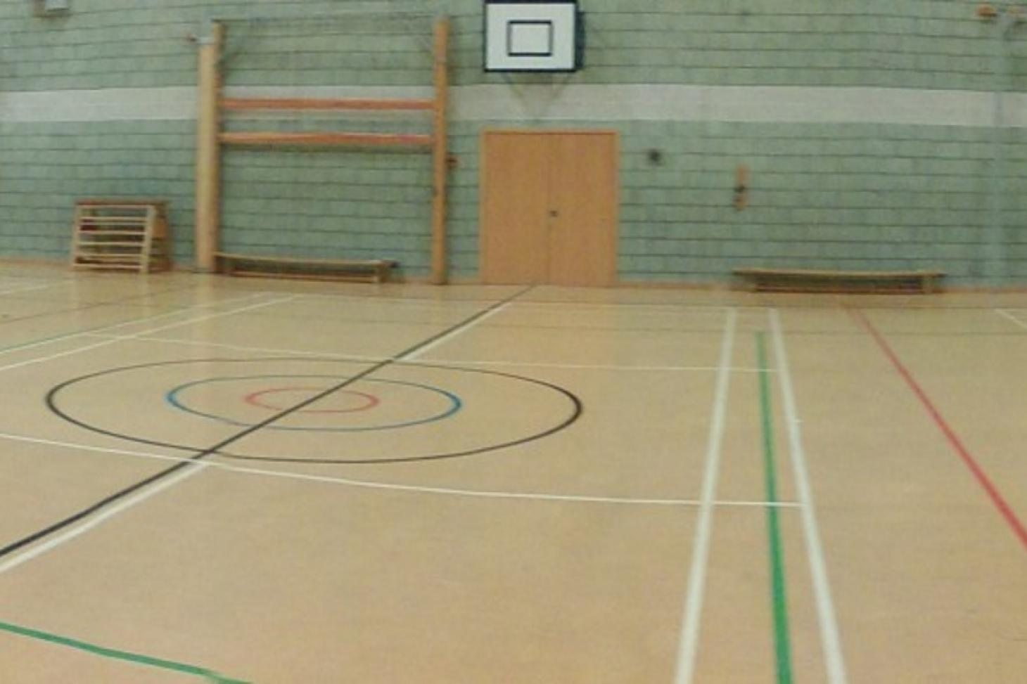 St Cecilia's Church of England School Indoor netball court