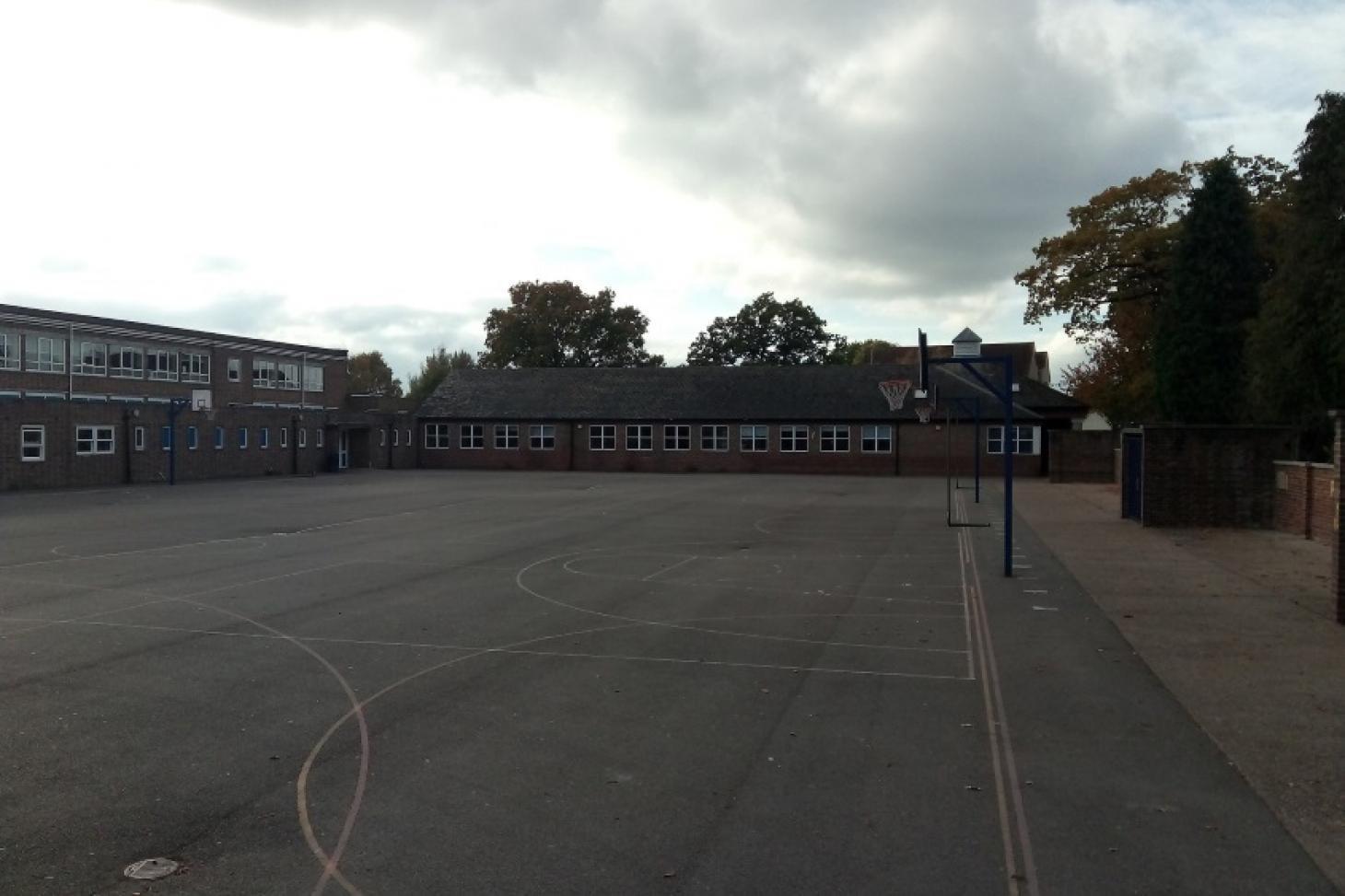 Hazelwick School 5 a side | Concrete football pitch