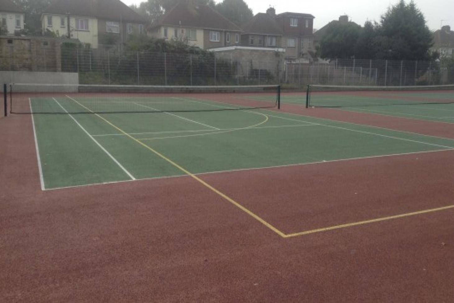 Northfleet Technology College Outdoor | Hard (macadam) basketball court