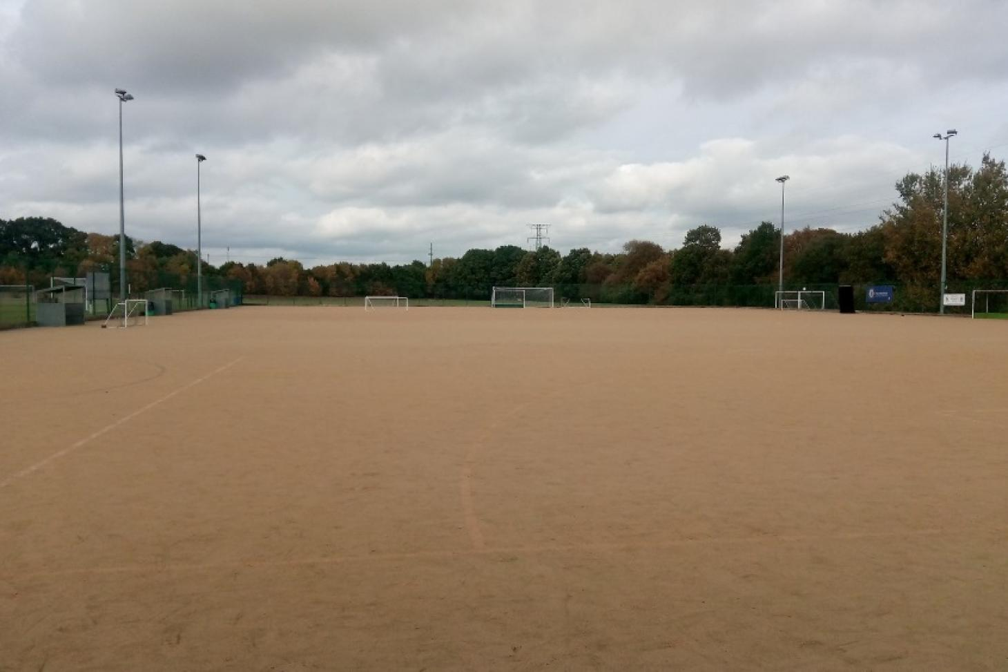Hazelwick School Outdoor | Astroturf hockey pitch