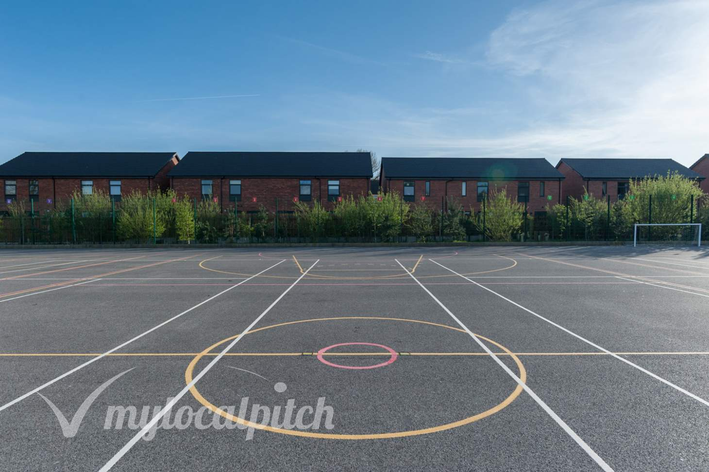 Irlam and Cadishead College Outdoor | Hard (macadam) tennis court