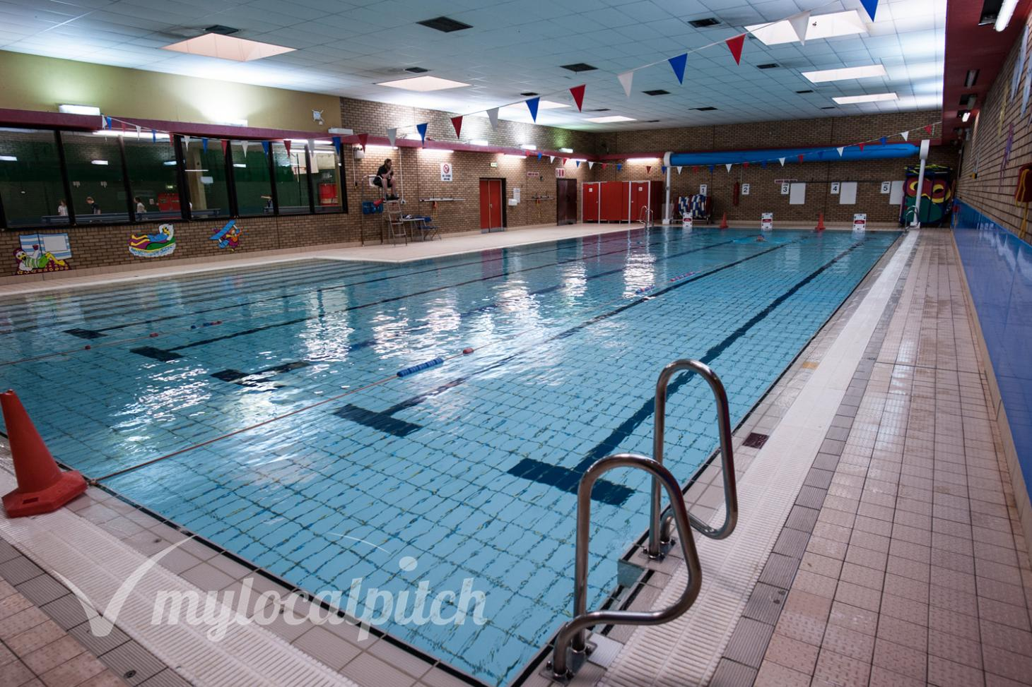 Swinton and Pendlebury Leisure Centre Indoor swimming pool