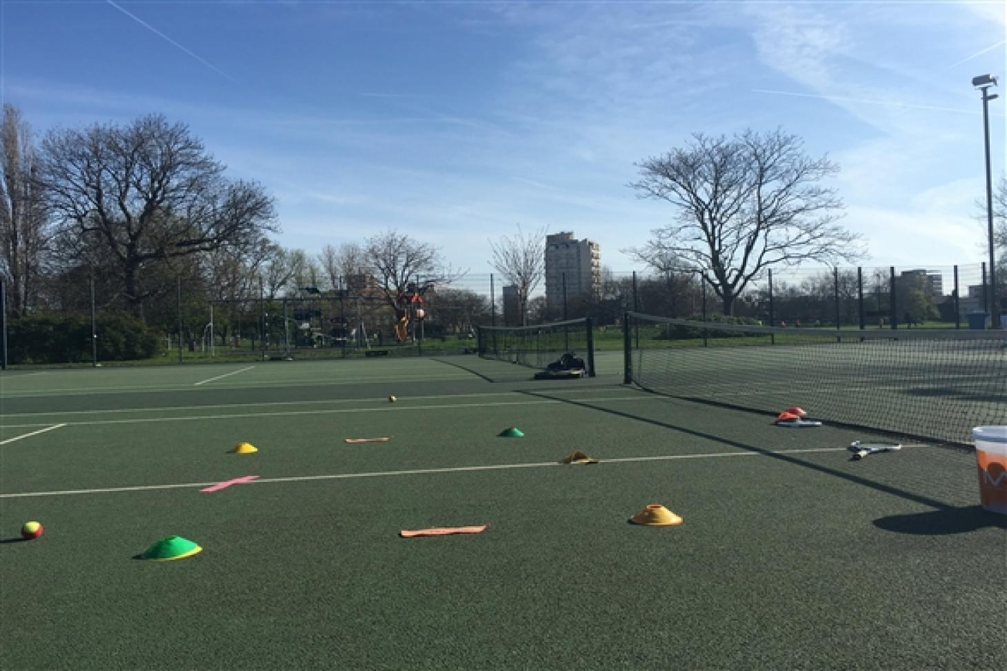 Larkhall Park Outdoor | Hard (macadam) tennis court