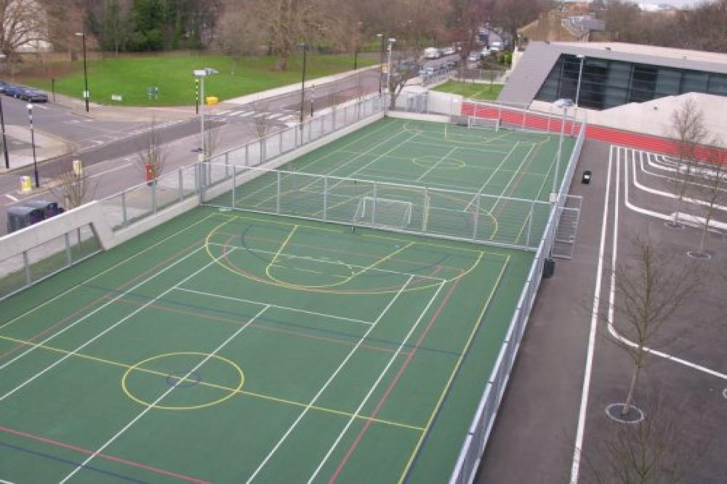 Evelyn Grace Academy Outdoor   Hard (macadam) netball court