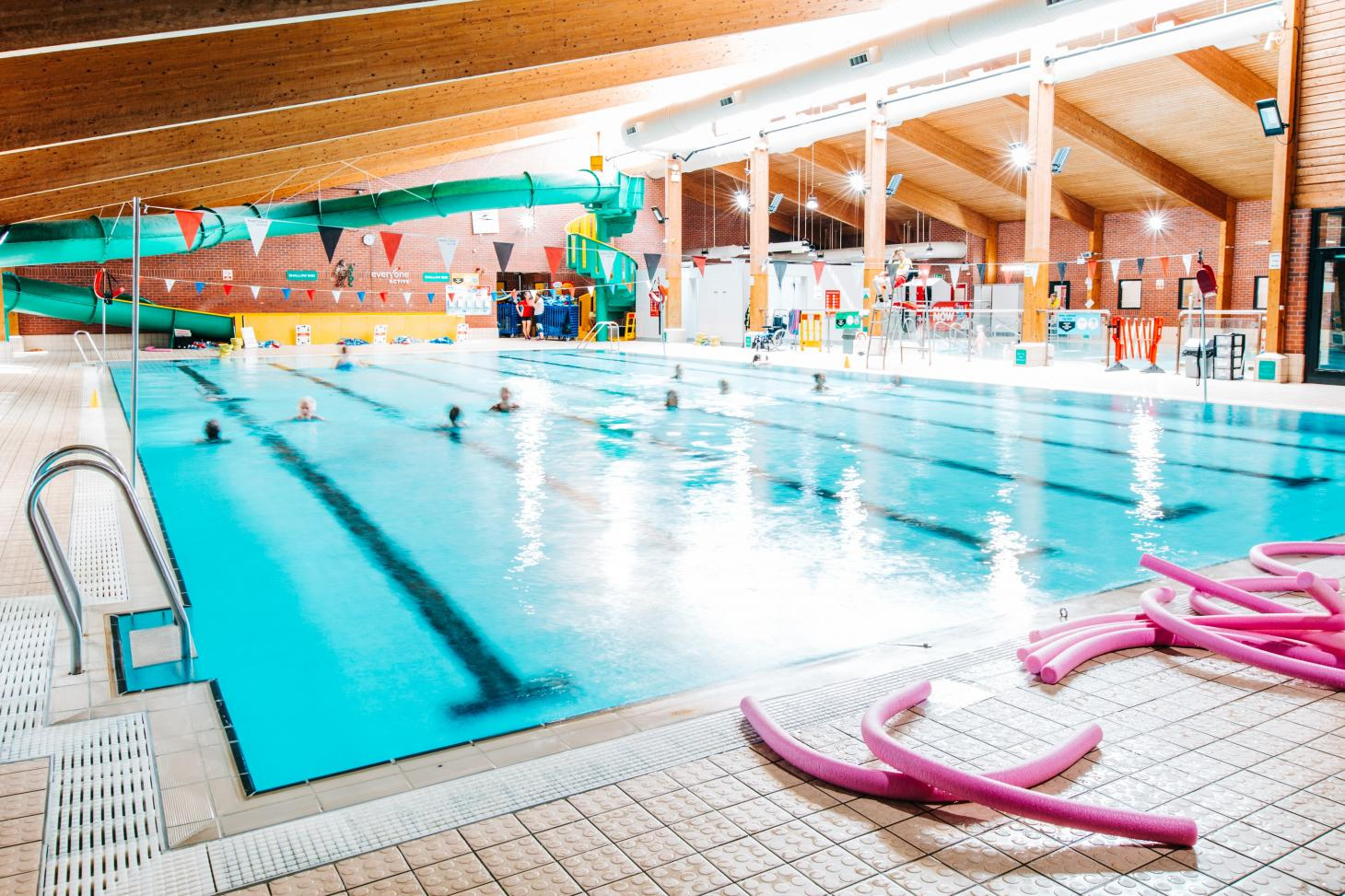 Swan Pool and Leisure Centre Indoor swimming pool