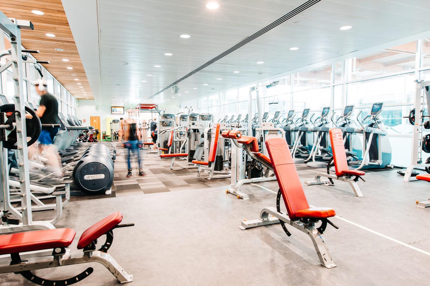 Aqua Vale Swimming and Fitness Centre Gym gym