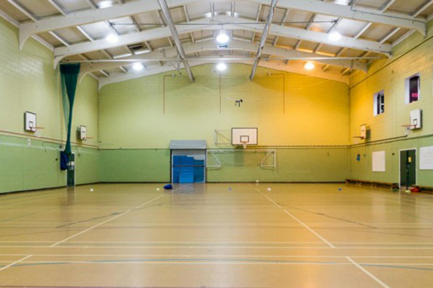 King Harold Business and Enterprise Academy Indoor   Hard badminton court