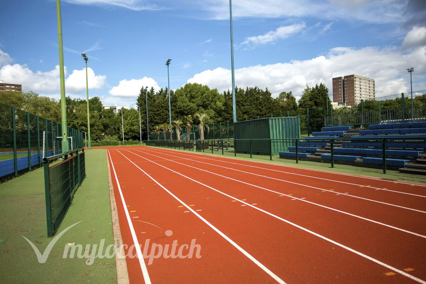 Paddington Recreation Ground Outdoor | Synthetic rubber athletics track