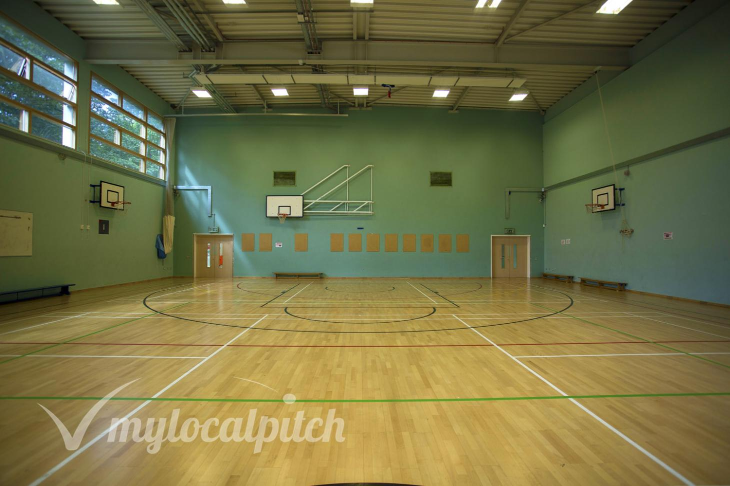 St Augustine's Sports Centre Indoor | Hard badminton court
