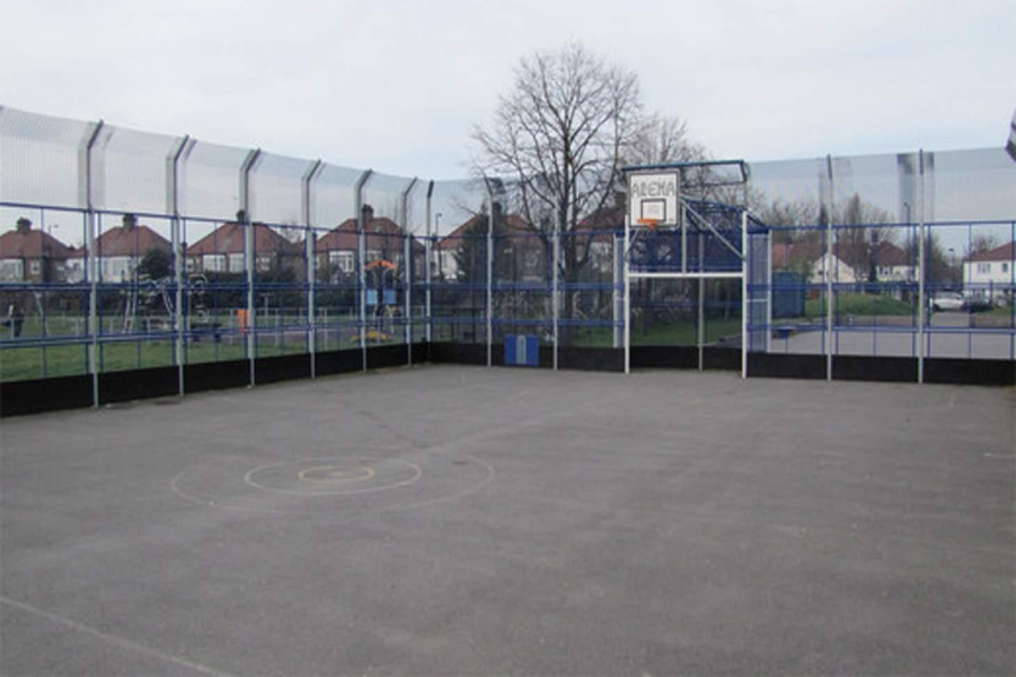 Wilbury Primary School Outdoor | Hard (macadam) netball court