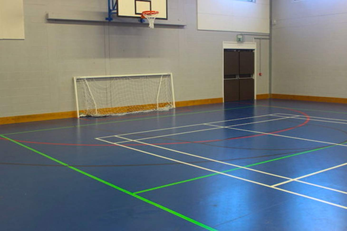 Newlands Academy Indoor basketball court